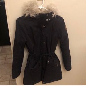 Hollister winter coat that's lined